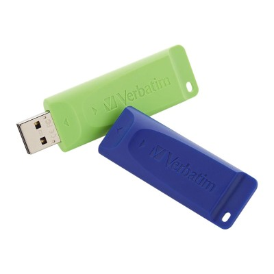 Verbatim 99124 Store 'n' Go - USB flash drive - 32 GB - USB 2.0 (pack of 2)