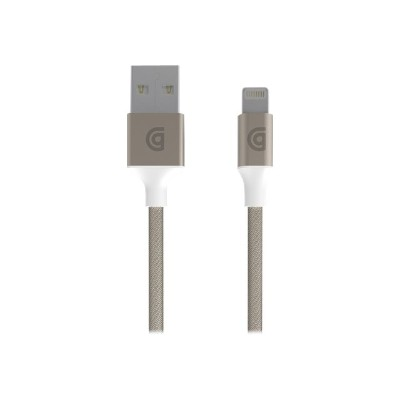 Griffin GC40903 Premium - Lightning cable - USB (M) to Lightning (M) - 5 ft - gold - reversible A connector - for Apple iPad/iPhone/iPod (Lightning)