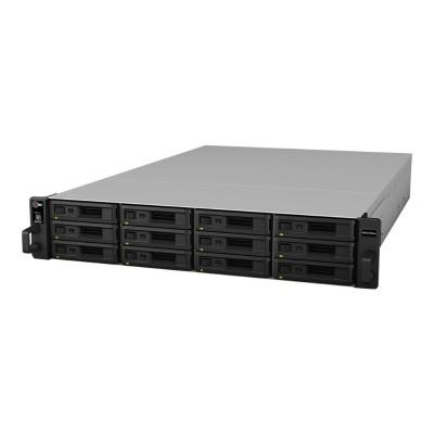 Synology RXD1215SAS RackStation RXD1215SAS - Hard drive array - 12 bays (SAS) - SAS (external) - rack-mountable - 2U