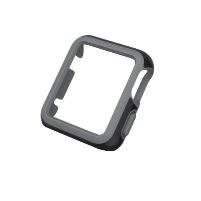 Speck Products SPK-A4135 CandyShell Fit Apple Watch 42mm Case - Black/Slate Grey