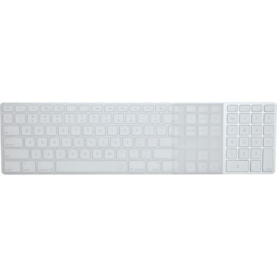 Ezquest X22309 Apple Wired Keyboard with Numeric Keypad US/ISO Invisible Ice Keyboard Cover