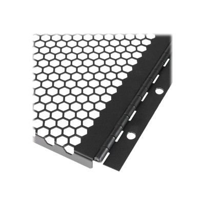 StarTech.com RKPNLHV6U 6U Vented Blank Panel with Hinge - Server Rack Filler Panel