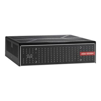 Cisco ASA5506H-SP-BUN-K9 ASA 5506H-X with FirePOWER Services - Security Plus Bundle - security appliance - 4 ports - GigE - desktop