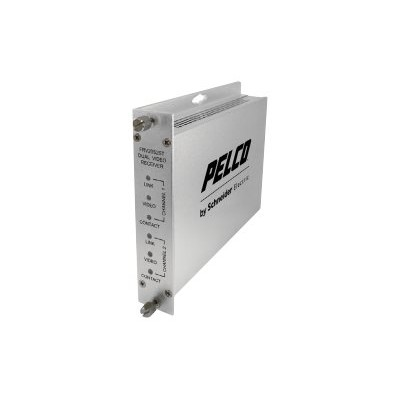 Pelco FRV20M2ST FRV20M2ST - Video extender - up to 2.5 miles - 1310 nm