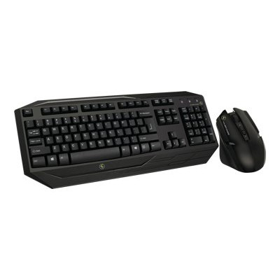 Iogear GKM602R Kaliber Gaming by GKM602R - Keyboard and mouse set - wireless - 2.4 GHz
