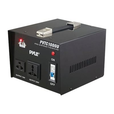 Pyle PVTC1000U PVTC1000U - Transformer - AC 110-120/220-240 V - 1 kW - output connectors: 2