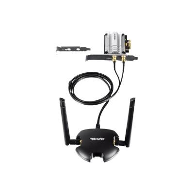 TRENDnet TEW-807ECH TEW-807ECH - Network adapter - PCIe - 802.11b  802.11a  802.11g  802.11n  802.11ac