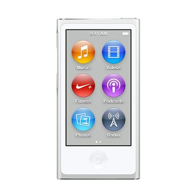 Apple MKN22LL/A Bundle iPod nano 16GB Silver (7th Generation) with Engraving