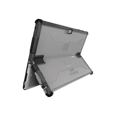 Trident Case CY-MSSF03-CLBLK Trident Cyclops Series Ultimate Slim - Back cover for tablet - polycarbonate  TPE - black  clear - for Microsoft Surface 3