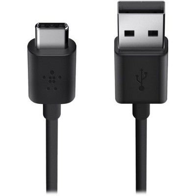 Belkin F2CU032BT06-BLK MIXIT - USB cable - USB (M) to USB Type C (M) - USB 2.0 - 6 ft - black
