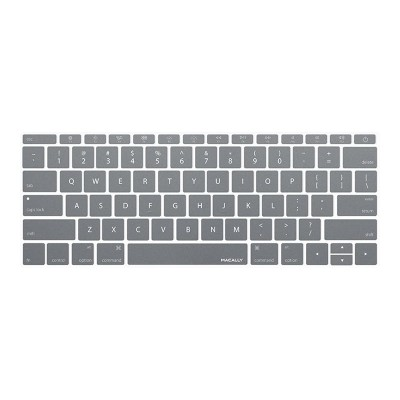 MacAlly Peripherals KBGUARDMBGY Notebook keyboard cover - 12 - gray
