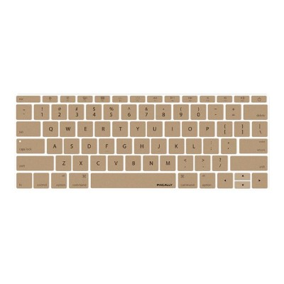 MacAlly Peripherals KBGUARDMBGD Notebook keyboard cover - 12 - gold