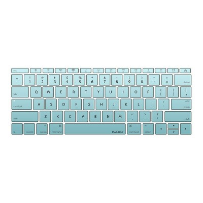 MacAlly Peripherals KBGUARDMBTLG Notebook keyboard cover - 12 - teal gradient