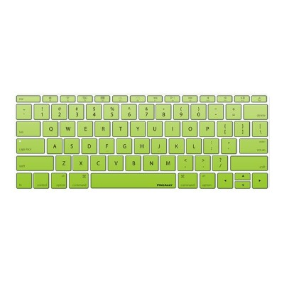 MacAlly Peripherals KBGUARDMBGNG Notebook keyboard cover - 12 - green gradient