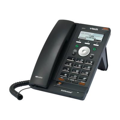 Vtech Communications VSP715 ErisTerminal VSP715 - VoIP phone - SIP - 2 lines - gunmetal