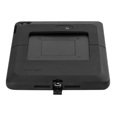 Kensington K67739WW SecureBack Rugged Payments Enclosure - Back cover for tablet - black - for Apple 9.7-inch iPad  iPad Air  iPad Air 2 13595058