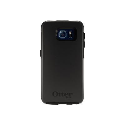 Otterbox 77-52028 Symmetry Series Galaxy S6 Protective Case - ProPack Each - back cover for cell phone - black - for Samsung Galaxy S6
