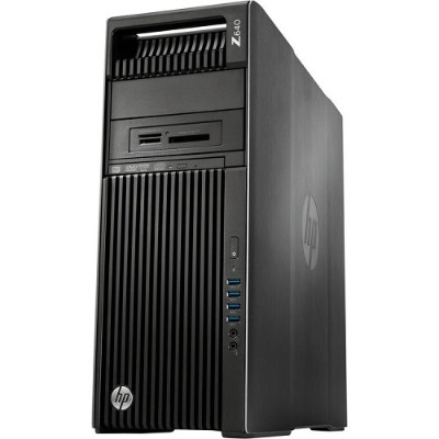 HP Inc. P0V65UT#ABA Smart Buy Z640 Intel Xeon 6-Core E5-2620 v3 2.40GHz Workstation -  8GB RAM  Z Turbo Drive G2 256GB PCIe SSD  SuperMulti DVD  Gigabit Etherne