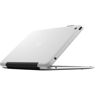 Incipio IPD-264-WSLV Clam Case Pro Smoke Aluminum with Black Plastic for iPad Mini 1 2 & 3 - Silver/White