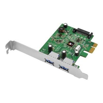 SIIG JU-P20B12-S1 JU-P20B12-S1 - USB adapter - PCIe 3.0 low profile - USB 3.1 x 2