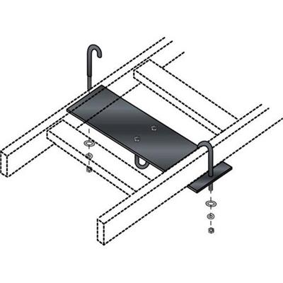 Black Box RM653-R2 Rack mounting plate - black