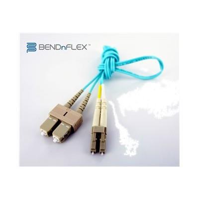 Axiom Memory LCSCB4PAP30-AX BENDnFLEX Platinum - Network cable - SC multi-mode (M) to LC multi-mode (M) - 98 ft - fiber optic - 50 / 125 micron - OM4 - plenum