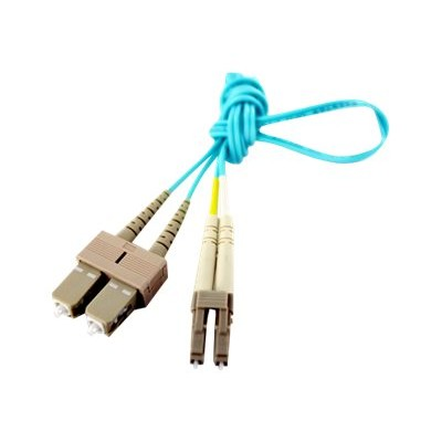 Axiom Memory LCSCB4PAP70-AX BENDnFLEX Platinum - Network cable - SC multi-mode (M) to LC multi-mode (M) - 230 ft - fiber optic - 50 / 125 micron - OM4 - plenum