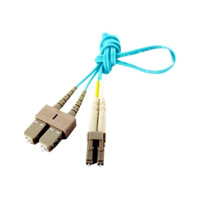 Axiom Memory LCSCB4PAP60-AX BENDnFLEX Platinum - Network cable - SC multi-mode (M) to LC multi-mode (M) - 197 ft - fiber optic - 50 / 125 micron - OM4 - plenum