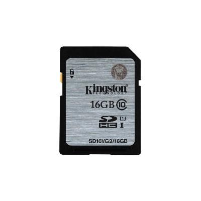 Kingston SD10VG2/16GB 16GB SDHC Class10 UHS-I 45MB/s Read Flash Card