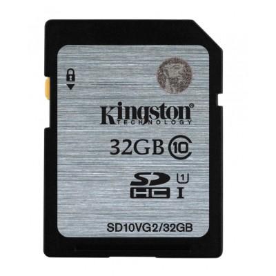 Kingston Digital SD10VG2/32GB 32GB SDHC Class10 UHS-I 45MB/s Read Flash Card