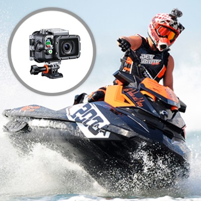 AEE Technology S71T PLUS AEE S71T Pro 4K 15FPS 16MP Wifi Action Camera with Touch LCD and Wrist Remote - The best Action Camera AEE has to offer. - New Arrival