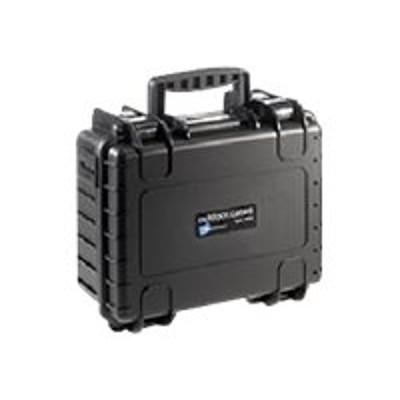B&W International 3000/B/SI B&W outdoor.cases Type 3000 - Hard case - polypropylene - black