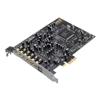 Creative Labs 30SB155000001 Sound Blaster Audigy RX - Sound card - 24-bit - 192 kHz - 106 dB SNR - 7.1 - PCIe - E-MU