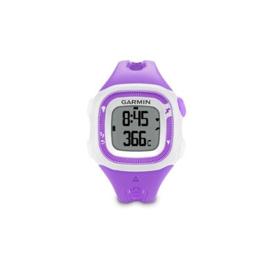 Garmin International 010-N1241-22 Forerunner 15 Activity Tracker - Violet/White - Refurbished