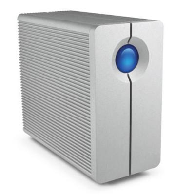 LaCie LAC9000317 8TB 2big Quadra USB 3.0/FireWire 800 2-Bay RAID External Hard Drive