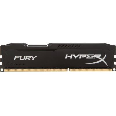 Kingston HX424C15FB/4 4GB Module HyperX FURY Memory Black - DDR4 2400MHz