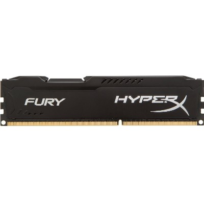 Kingston HX424C15FB/8 HyperX FURY Memory Black - 8GB Module - DDR4 2400MHz