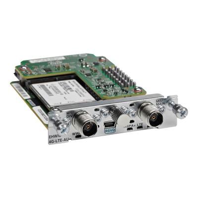 Cisco EHWIC-4G-LTE-VZ= 4G LTE Wireless WAN Card - Wireless cellular modem - EHWIC - CDMA 2000 1X EV-DO Rev. A LTE - 100 Mbps - Verizon - for ISR G2