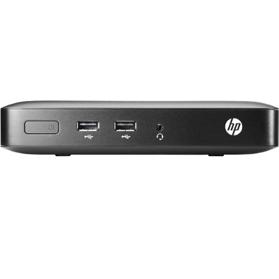 HP Inc. M5R73AT#ABA Smart Buy t420 AMD Dual-Core Embedded G-Series GX-209JA SOC 1.0GHz Thin Client - 2GB RAM  8GB Flash  Gigabit Ethernet