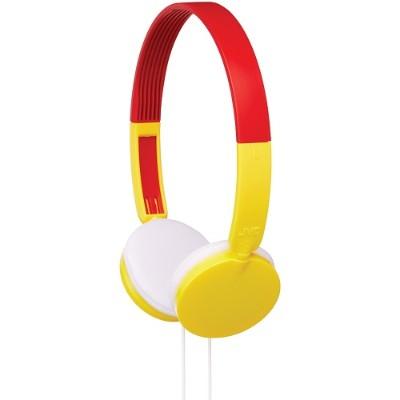 JVC HAKD3Y Over-Ear Child's Headphones (Yellow)