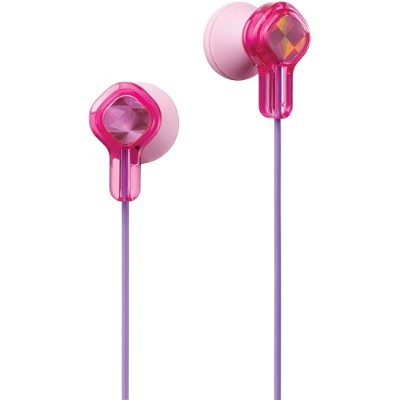 JVC HAKD1P In-Ear Child's Headphones (Pink)