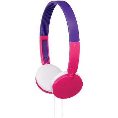 JVC HAKD3P Over-Ear Child's Headphones (Pink)