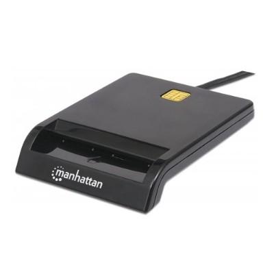 Manhattan 101776 Smart Card Reader - USB  Contact Reader  External