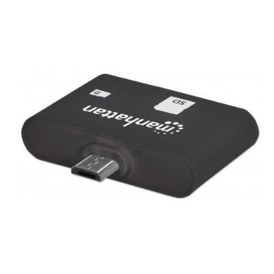 Manhattan 406208 imPORT SD Mobile OTG Adapter  24-in-1 Card Reader/Writer