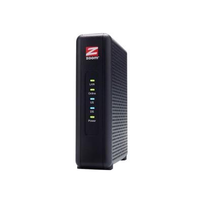 Zoom 5345-00-00 CableModem 5345 - Cable modem - Gigabit Ethernet - 343 Mbps