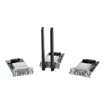 Cisco NIM-4G-LTE-NA= Wireless cellular modem - 4G LTE - 100 Mbps - AT&T - for  4451-X  ISR 4321  4331  4351  4431