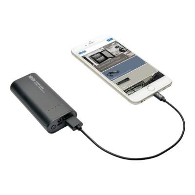 TrippLite UPB-05K2-1U Portable 1-Port USB Battery Charger Mobile Power Bank 5.2k mAh