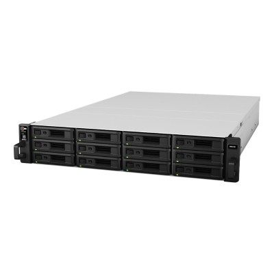 Synology RS2416+ RackStation RS2416+ - NAS server - 12 bays - rack-mountable - SATA 6Gb/s - RAID 0  1  5  6  10  JBOD  5 hot spare  6 hot spare  10 hot spare  1