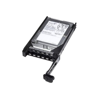 Dell 400-AEEU Hard drive - 600 GB - hot-swap - 2.5 - SAS 6Gb/s - 10000 rpm - for PowerEdge R530  R730 (3.5)  R730xd (3.5)  T430 (3.5)  T630 (3.5)  PowerVault MD