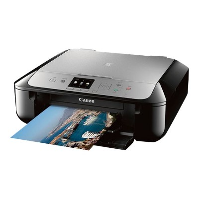 Canon 0557C042 PIXMA MG5721 - Multifunction printer - color - ink-jet - 8.5 in x 11.7 in (original) - Legal (media) - up to 12.6 ipm (printing) - USB 2.0  Wi-Fi
